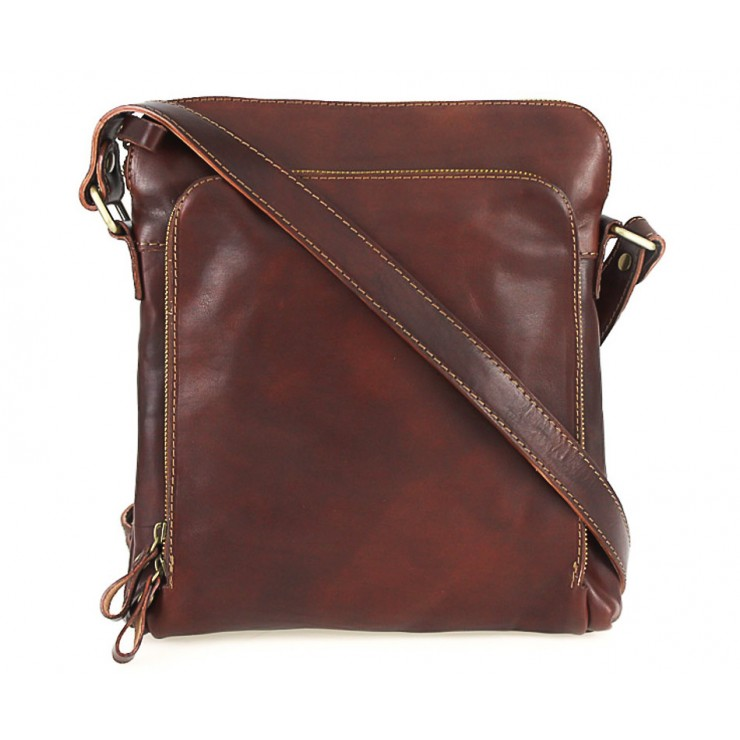 Leather Strap bag brown 453
