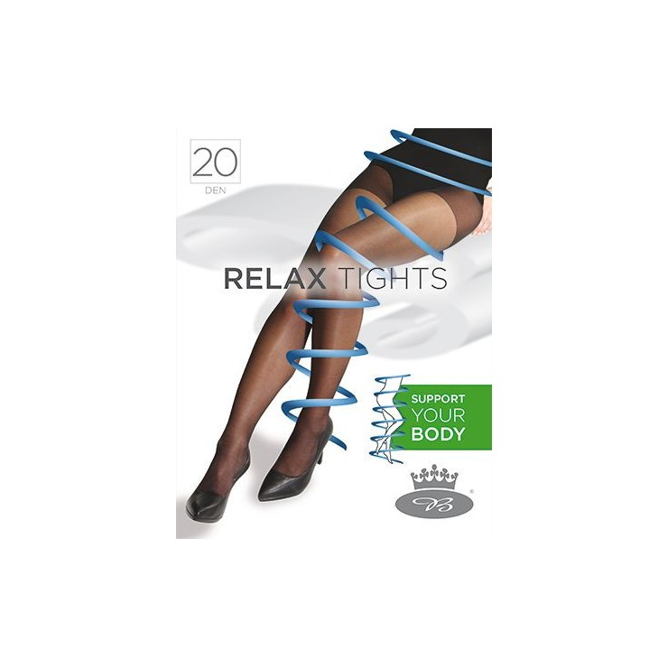 Women's supportive tights with elastane