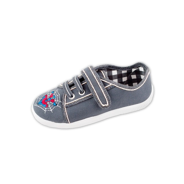 Boys' slippers gray
