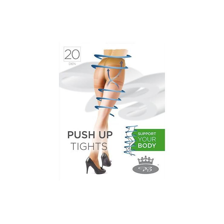 Podporné pančuchové nohavice s elastanom a formujúcim sedom