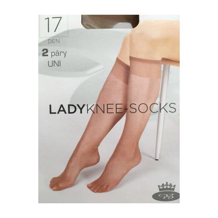 Lady Knee socks 2 pairs