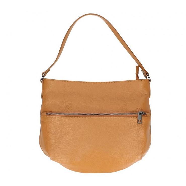 Koňaková kožená kabelka na rameno 5311