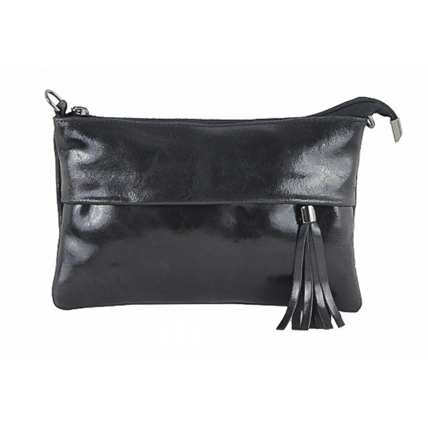 Genuine Leather Handbag 1423A black