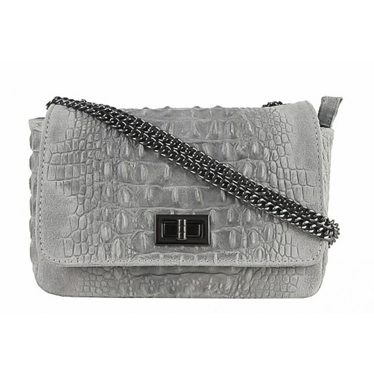 Small Pochette with strap 439 gray