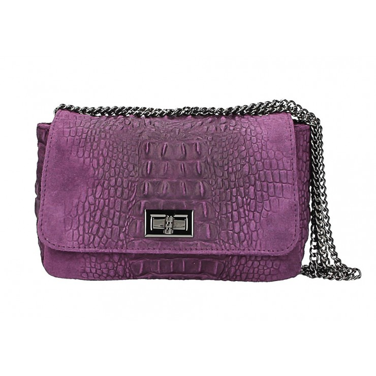 Small Pochette with strap 439 violett