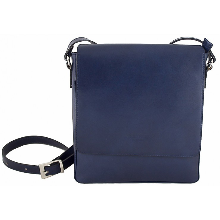 Pánska kožená taška 1160 modrá