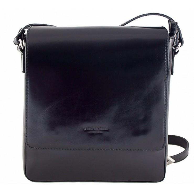 Pánska kožená taška 1160 čierna