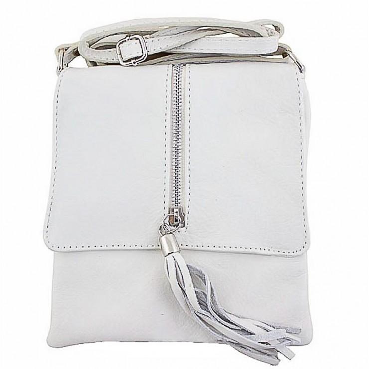 Genuine Leather Shoulder Bag 603A beige