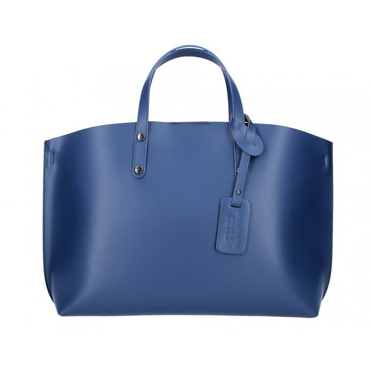 Genuine Leather Handbag 5304 jeans
