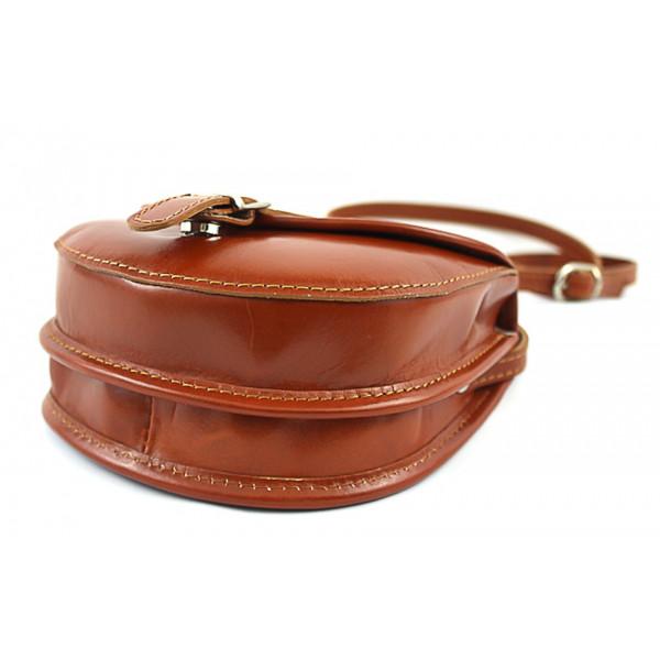Talianska kožená kabelka 116B žltá