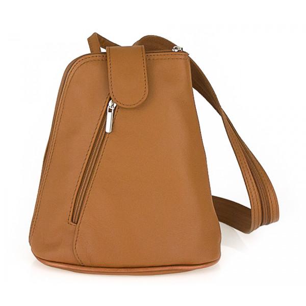 Kožený batoh 1083 koňakový