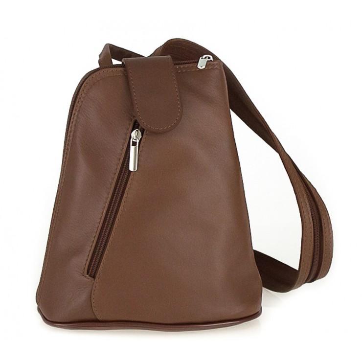Kožený batoh 1083 hnedý