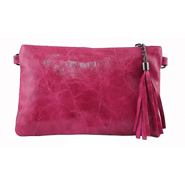 Genuine Leather Handbag 750 fuxia