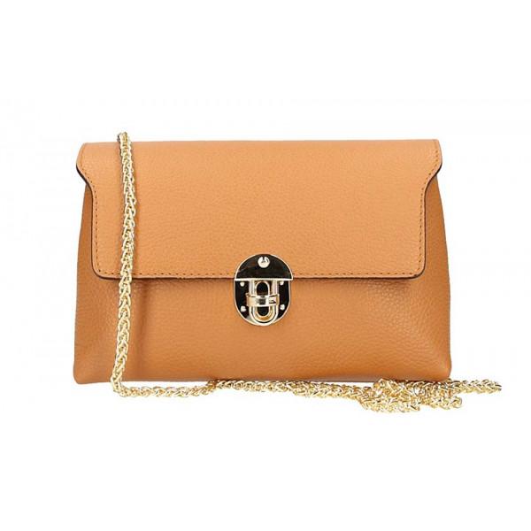 Koňaková kožená kabelka na rameno 5306