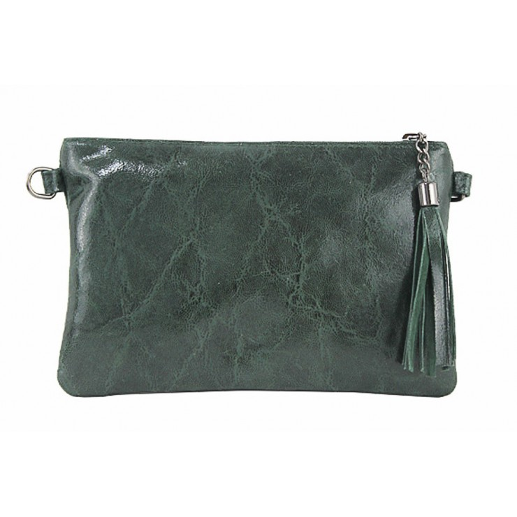 Genuine Leather Handbag 750 green
