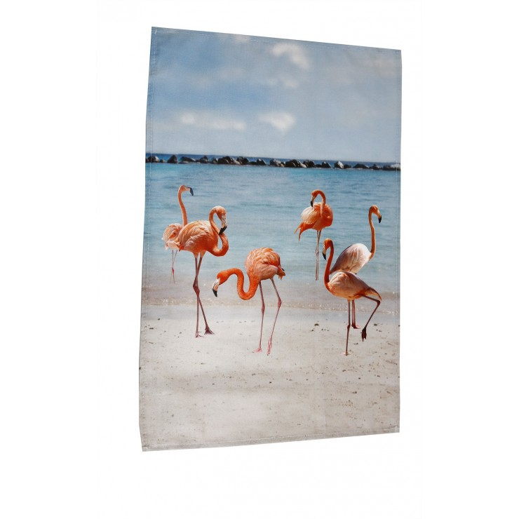 Kitchen towel Flamingo