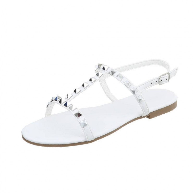 Woman sandals Stephan white