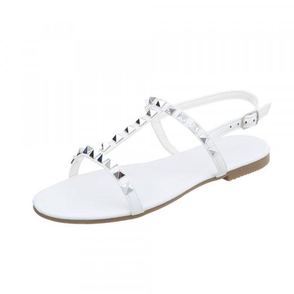 Dámske sandále Stephan biele