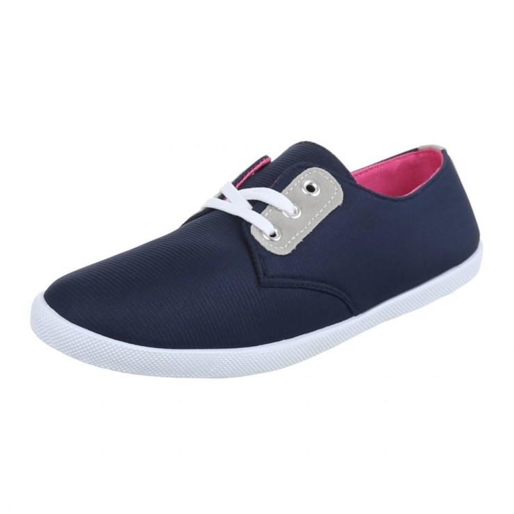 Women's Canvas Sneakers Juliet 39 blue