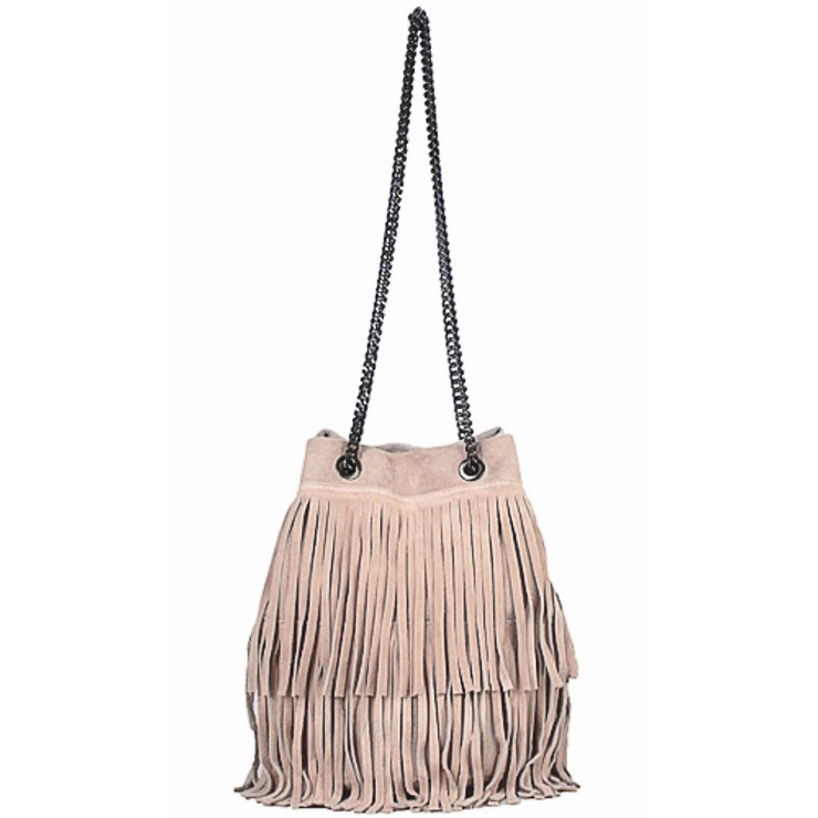 Suede Leather Bag 429 pink