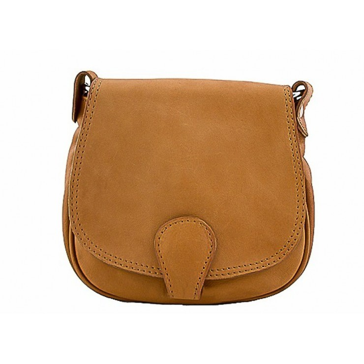 Leather Messenger Bag 923 cognac