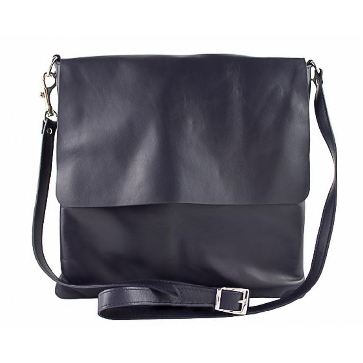 Pánská kožená taška 435 modrá