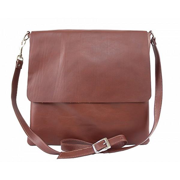 Pánska kožená taška 435 hnedá Hnedá