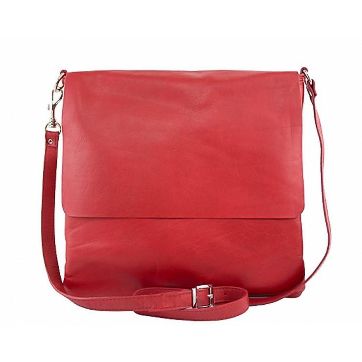 Pánska kožená taška 435 červená