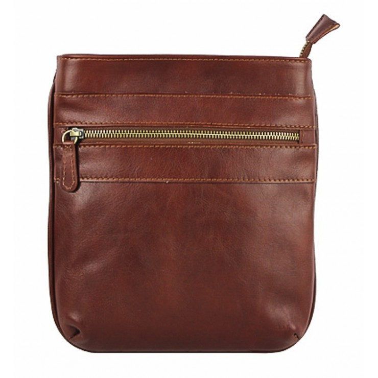 Leather Strap bag 602 brown