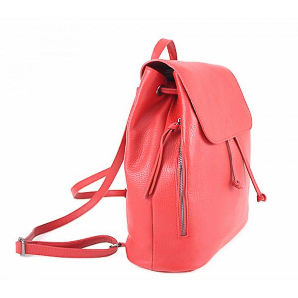 c8a9fe49a4 Dámsky kožený batoh 420 Made in italy čierny - MONDO ITALIA s.r.o.