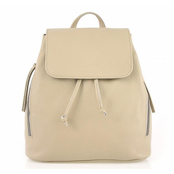 0e5c49af82 Dámsky kožený batoh 420 Made in italy šedohnedý - MONDO ITALIA s.r.o.