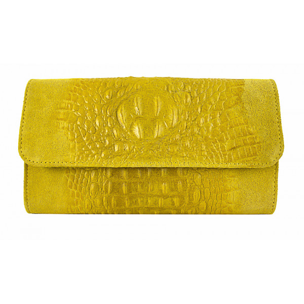 b79054177d Kožená kabelka 1251 Made in Italy žltá - MONDO ITALIA s.r.o.
