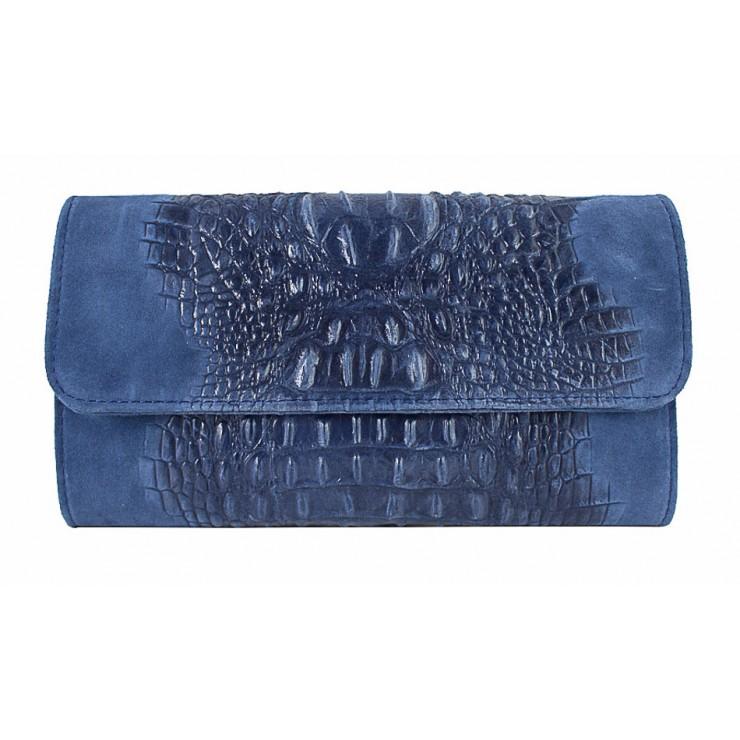 Kožená kabelka 1251 Made in Italy jeans