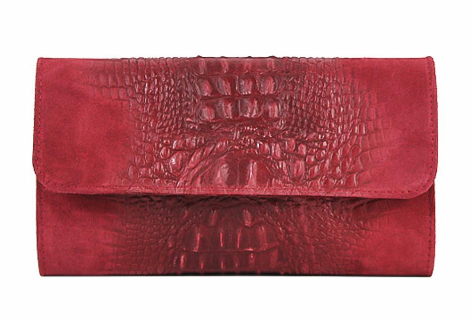 d9369c3bfa Kožená kabelka 1251 Made in Italy červená - MONDO ITALIA s.r.o.