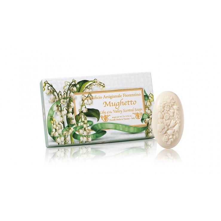 Prírodné mydlo Konvalinka 3 x 125 g