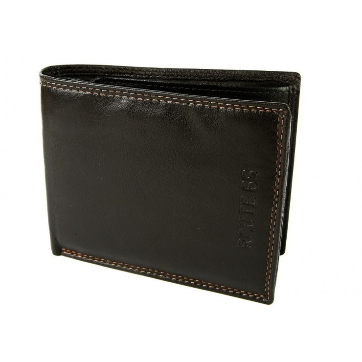 Men's wallet 738 dark brown Route66