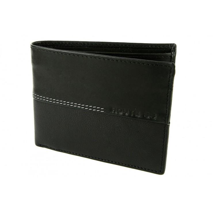 Pánska kožená peňaženka 564 čierna Route66