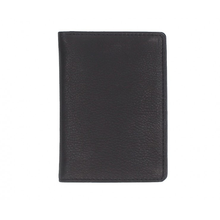 Leather business card holder 790 black
