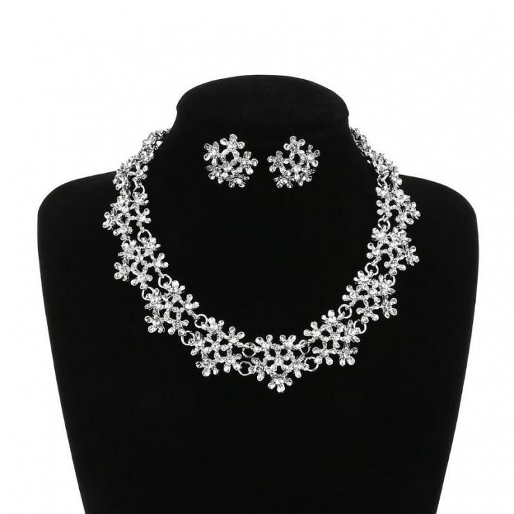 Dámský set náhrdelník a náušnice