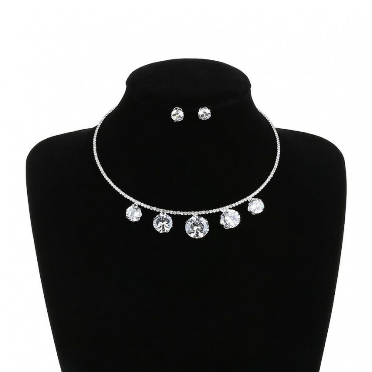 Dámský set náhrdelník a náušnice 78