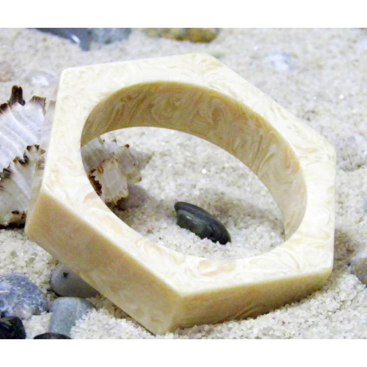 Dámský náramek 744 slonovinová kost