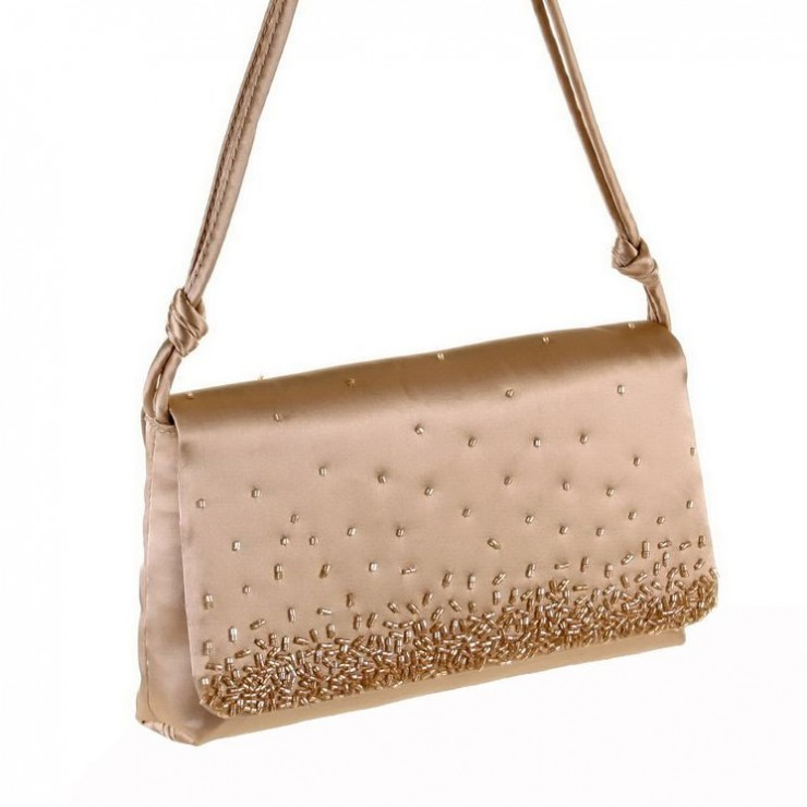 Gold Woman Evening Handbag 397 Regina Schrecker