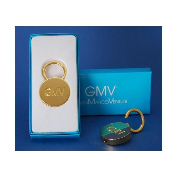 Kľúčenka 180 zlatý kruh GianMarco Venturi Zlatá