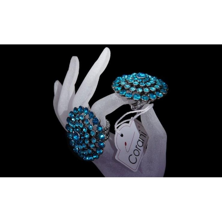 Dámský prsten 409 tyrkysový Corani