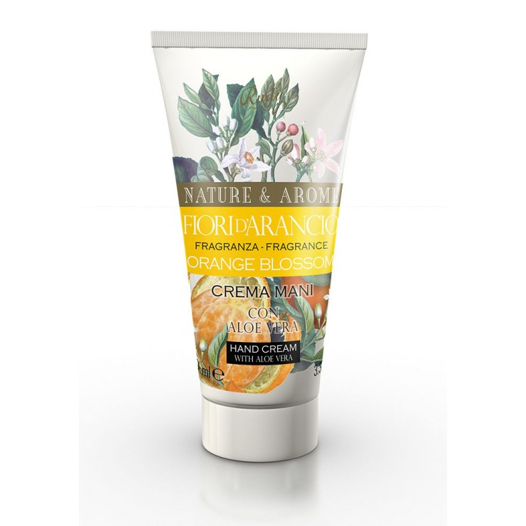 Botanic Orange flowers Hand Cream 100 ml