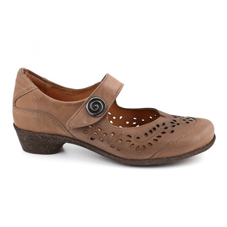 Women´s leahter shoes 936 brown Comfort