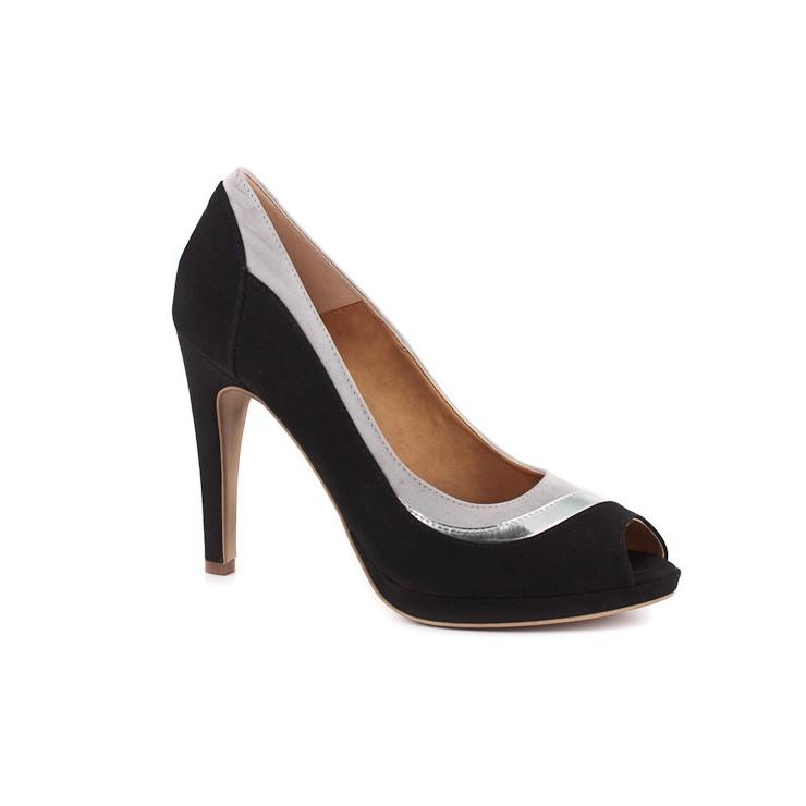 Woman high heels 932 black Elisa Morelli