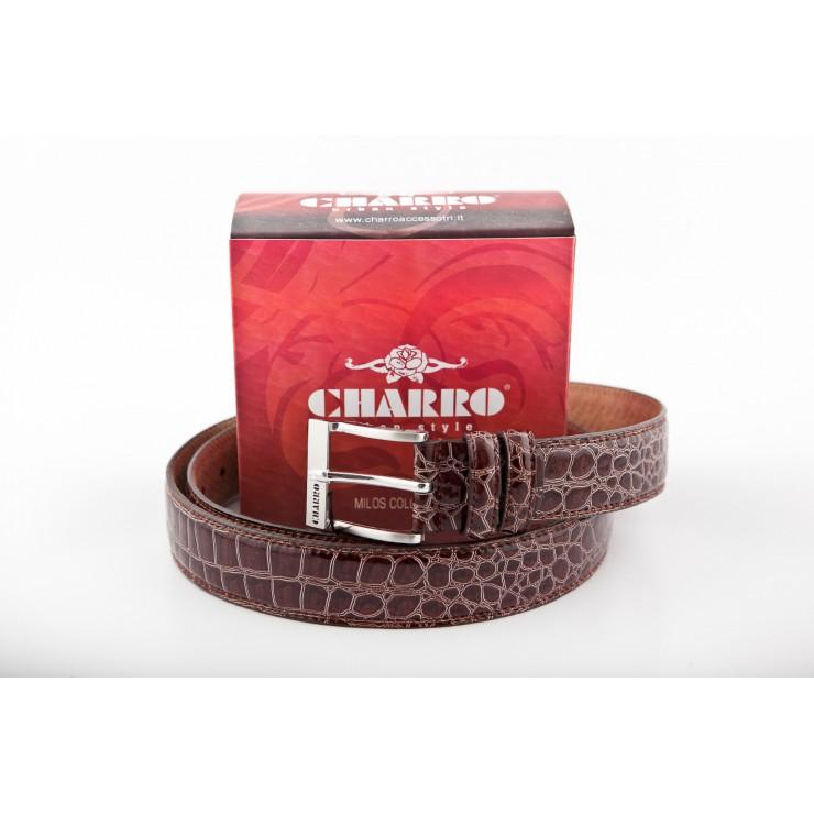 Pánsky opasok 17 hnedý Charro