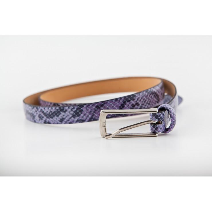 Dámský opasok 82 fialový Made in Italy