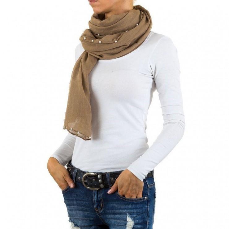 Women's foulard 376 taupe